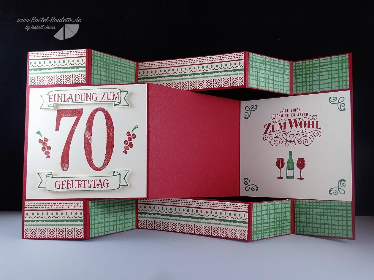 Einladung Zum 70sten Geburtstag!