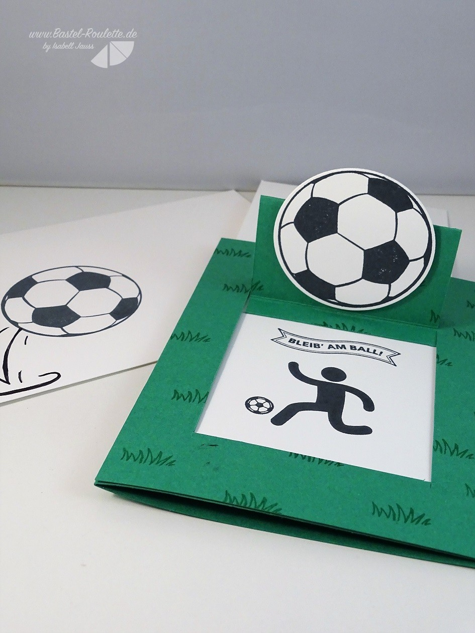 Danke an den Fußballtrainer | Bastel Roulette